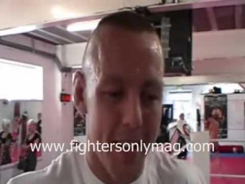Ross Pearson talks Cole Miller, Muay Thai, Wrestling & More