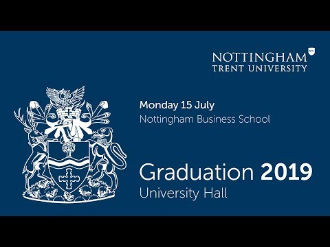 NTU Graduation 2019 Ceremony 5: Nottingham Business School 5.30 pm
