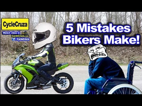 5 MISTAKES Motorcycle Riders Make with GEAR | MotoVlog