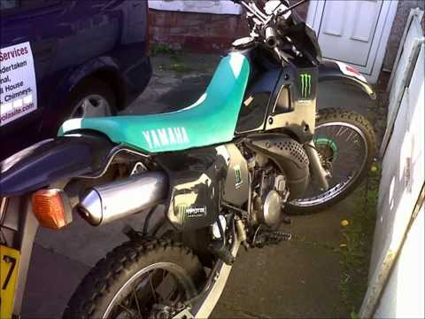 MyLemonking - YAMAHA dt 125 restored by my lads mate. converted from off road to on road.sorry I put kawasaki on first bit of vid.