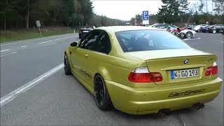 BMW M3 E46 - Loud acceleration at the Nürburgring!