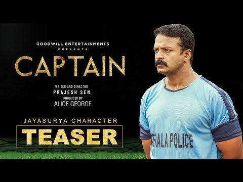 Captain | Jayasurya Character Teaser
