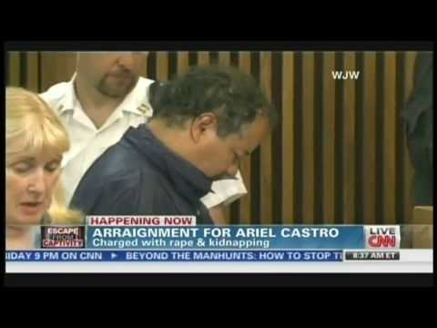 Ariel Castro arraignment on kidnapping and rape charges, bond set at $8 million (May 9, 2013)