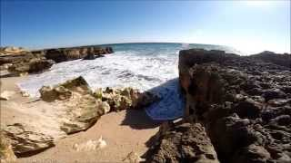 Video Praia Do Evaristo / Algarve Portugal - beautiful Beach -  schöner Strand MP3, 3GP, MP4, WEBM, AVI, FLV Juli 2018