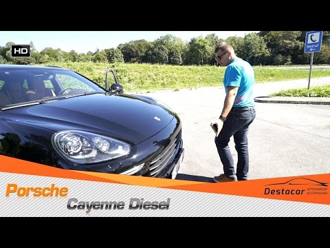 Осмотр и покупка Porshe Cayenne 3.0 Diesel в Германии