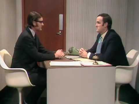 "Monty Python the king of meta in ""Argument Clinic"""