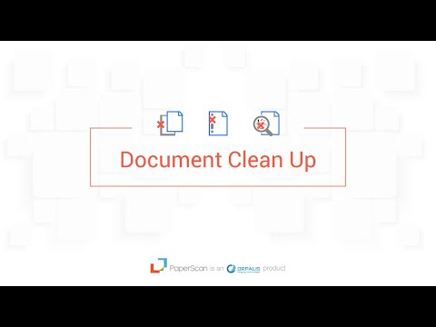 Paperscan Video Guide Episode 4 Document Cleaning, Filters & more!