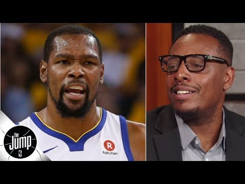 Video: Paul Pierce doesn't understand what's going on with Kevin Durant | The Jump