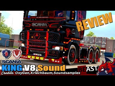 Scania King V8 Sound 1.28.x