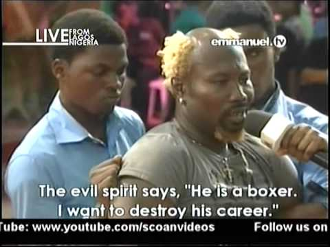 VIDEO: Ayittey Powers delivered at TB Joshua's church