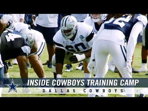 Inside Training Camp: Closer Look at DT Antwaun Woods & CB Charvarius Ward | Dallas Cowboys 2018