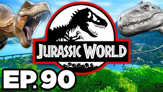 Jurassic World Evolution Ep.90 - INTRODUCING KENTROSAURUS DINOSAURS TO THE PARK (Gameplay Lets Play)