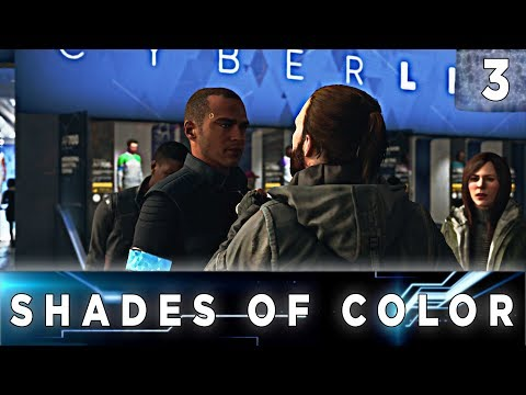Detroit: Become Human - Walkthrough Chapter 3 - Shades of Color // All Endings, 100% Flowchart