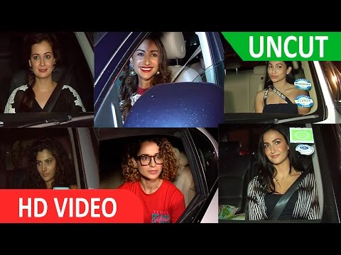 UNCUT | Big B Host Special Screening Of Pink For Female Celebrities