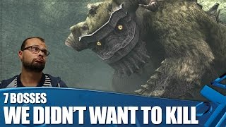 7 Videogame Bosses We Didn't Want To Kill