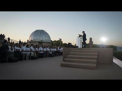 Πνύκα: Ομιλία – ορόσημο Μακρόν για το μέλλον της Ευρώπης