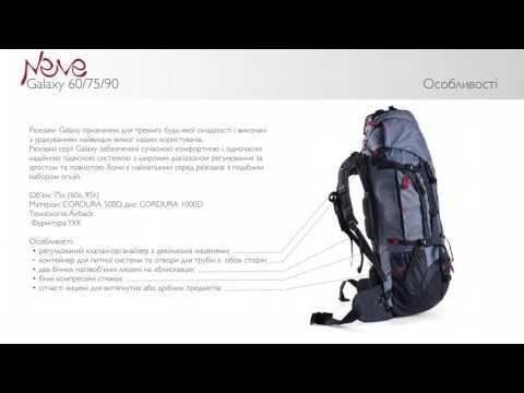Відео демонстрація рюкзака Galaxy