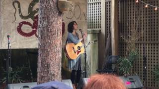 <b>Sarah Lee Guthrie</b> Singin Two Songs Written By Her Granddad 1152017