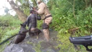 Pies policyjny wytropił bandytę