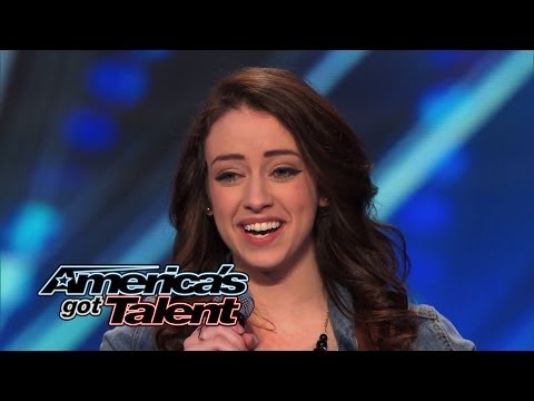 "Anna Clendening: Nervous Singer Delivers Stunning ""Hallelujah"" Cover – America's Got Talent 2014"