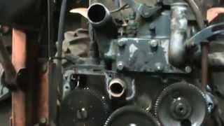7. kubota tractor w/low oil pressure teardown
