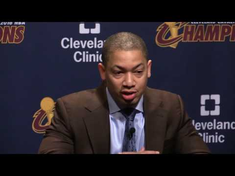 Tyronn Lue reacts to LeBron James' request for 'playmaker'