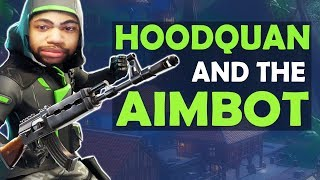 HOODQUAN AND THE AIMBOT -  (Fortnite Battle Royale)