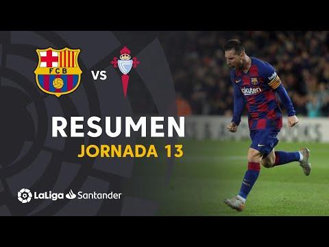 Resumen de FC Barcelona vs RC Celta (4-1)