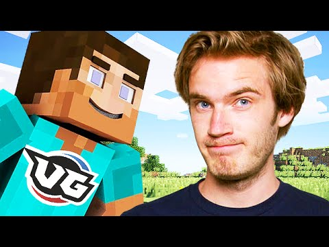 Pewdiepie Pranking a Fan ON MINECRAFT (Minecraft Trolling)