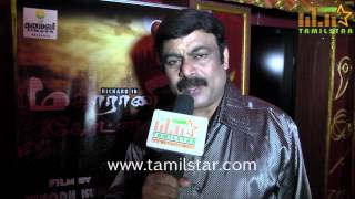 UK  Murali at Maharani Kottai Movie Audio Launch