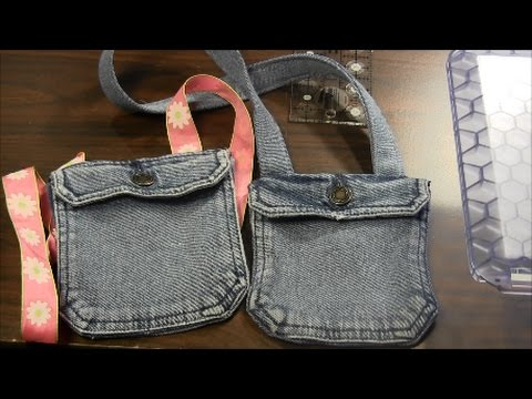 799849dd359 Click to watch the Recycled Jeans Pocket Handbag video in Youtube.