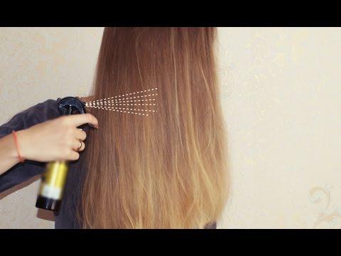 Натуральный спрей для волос своими руками