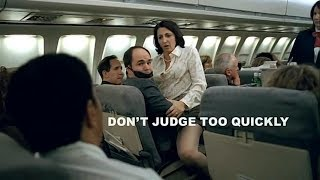 In this funny Super Bowl XL commercial, a woman trying to get to a restroom in a plane gets caught in uncomfortable situation.Watch More Great Commercials - Subscribe ➜ http://goo.gl/3oCEE8Share this Video: ➜ http://youtu.be/XO6fIoqeBhE▰▰▰▰▰▰▰▰▰▰▰▰▰▰▰▰▰▰▰▰▰▰▰▰▰▰▰▰▰▰▰▰CREDITS➢ Title: Friendly Skies / Airplane Turbulence➢ Brand: Ameriquest Mortgage Co.➢ Tagline: Don't judge to quickly. We won't.➢ Country: USA➢ Year: 2006➢ Advertiser: Ameriquest Mortgage Company➢ Advertising agency: DDB Los Angeles, United States➢ Director: Craig Gillespie➢ Creative Director: Helene Cote➢ Executive Creative Director: Mark Monteiro➢ Art Director: Susan Fukuda➢ Copywriter: Rebecca Rivera➢ Editor: Haines Hall➢ Mix Studio: Lime Studios, Santa Monica➢ Production Company: MJZ➢ Sound Design: Soundelux DMG, Ca Studios, Hollywood➢ Editorial Company: Spot Welders➢ Agency Producer: Vanessa MacAdam➢ Director of Photography: Tami Reiker➢ Executive Producer: Lisa Rich➢ Line Producer: Kim Shapiro➢ Producer: Konda Mason➢ Engineer: Loren Silbur➢ Account Supervisor: Shawn Heintz-Mackoff➢ Art Director: Christianne Brooks➢ Copywriter: Rick Bursky (Doctor)➢ Flame Artist: Jim Bohn at Sea Level, Venice➢ Friendly Skies won a Gold Pencil Award at The One Show 2006.➢ In May 2006 Ameriquest decided to close all 229 retail branches and cut 3,800 jobs, in the wake of the subprime mortgage crisis. The parent company, ACC Capital Holdings, was bought by Citigroup in 2007.▰▰▰▰▰▰▰▰▰▰▰▰▰▰▰▰▰▰▰▰▰▰▰▰▰▰▰▰▰▰▰▰★ ★ CHECK THIS OUT:http://www.youtube.com/watch?v=KY0ztZQJ5p4http://www.youtube.com/c/ViralNation1http://www.youtube.com/playlist?list=PLZppASF5tn2mfipEG8OXfO7jlORMJKevuThanks for watchingFriendly Skies - Ameriquest