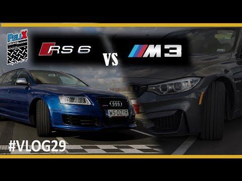 AUDI RS6(780kM) vs BMW M3(430kM)