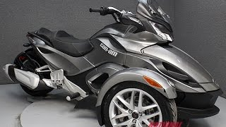 8. 2013 Can Am Spyder ST-SM5  - National Powersports Distributors