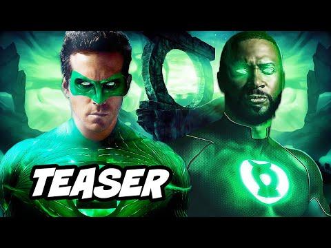 Green Lantern Teaser 2021 - Green Lantern HBO Announcement Breakdown and Easter Eggs