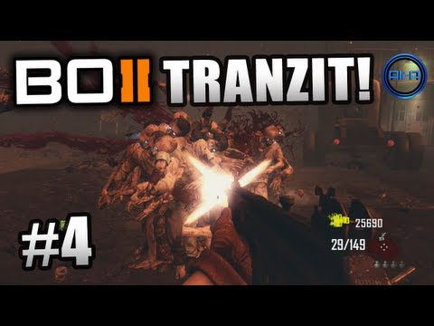 BLACK OPS 2 Zombies Tranzit ! Ali-A LIVE