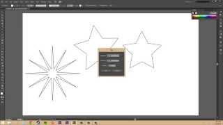 Adobe Illustrator CS6 for Beginners - Tutorial 22 - Creating Polygons and Stars
