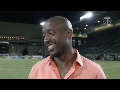 Video: Lawrence Olum | Timbers 2, Dallas 0 | Postgame - June 10, 2017