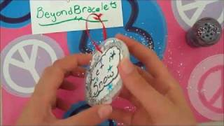 Recycled Christmas Ornament Tutorial - YouTube