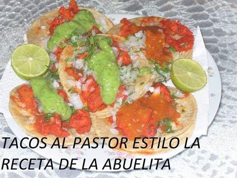 salsa de chipotle para tacos de al pastor receta
