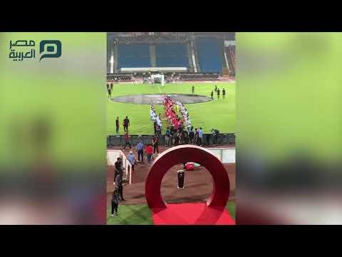 ممر شرفي للاعبي الأهلي بعد التتويج بالدوري