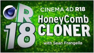 In This Cinema 4D R18 tutorial video, learn about an update to the MoGraph Cloner Animation system, the HoneyComb Cloner Array. With the HoneyComb Cloner Option in C4D R18, you can now automatically offset every other line of a cloner grid system, in order to create honeycomb and offsetting patterns. Now with the HoneyComb Cloner in Cinema 4D R18, you can quickly create a grid of clones on one axis, and adjust the offset and offset variation using sliders and different settings. This new update to Cinema 4D MoGraph animation helps to create unique honeycomb patterns in MoGraph animation which would not be possible in Cinema 4D before R18. This new feature and updates in Cinema 4D R18  are just a few of many updates for C4D R18, available in 2016. There are also additional updates to Cinema 4D R18 including the Material updates with the ThinFilm Shader and Parallax Bump Mapping, Inverted Ambient Occlusion, the new Shadow Catcher materials, MoGraph updates, new effectors, and more! To learn about other updates to Cinema 4D R18, be sure to check out www.MotionTutorials.net/updates-new-featuresBe sure to check out the new product, 360° Environment Maps Pro for Cinema 4D, Cinema 4D Lite, and Element 3D in the online store:  http://www.motiontutorials.net/store/Be sure to check out ArtbeatsEXPRESS, where you can create a free account and get access to professional stock media:http://www.artbeats.com/artbeatsexpresssft5With 360° Environment Maps Pro, you can get new environments for your Cinema 4D & Element 3D Projects.Check it out for Cinema 4D / C4D Lite:  http://tiny.cc/bqmbcyCheck it out for Element 3D for AE:  http://tiny.cc/1qmbcyTo learn about the new MoGraph Animation Features for Cinema 4D R18 individually, check out these videos:MoGraph R18 Cloner HoneyComb Array:  http://tiny.cc/mv84cyMoGraph R18 Scaling:  http://tiny.cc/gt84cyMoGraph R18 Push Apart Effector:  http://tiny.cc/su84cyMoGraph R18 ReEffector:  http://tiny.cc/iu84cyMoGraph R18 Weight Painting:  http://tiny.cc/ct84cyLike this tutorial? Consider becoming a Patron at Patreon.com/SeanFrangella to get additional benefits such as project files and more! Be sure to check out http://www.MotionTutorials.net for weekly tutorials on Cinema 4D, After Effects, Element 3D, Adobe Fuse and other cool motion graphics apps! This free Cinema 4D R18 tutorial also covers 3D animation tips and tricks in C4D.To get weekly Cinema 4D, Element 3D, After Effects, Motion Graphics, VFX, and 3D animation tutorials be sure to subscribe!http://www.youtube.com/subscription_center?add_user=SEANFRANGELLA To check out new features added to Cinema 4D R17, check out this video!http://tinyurl.com/gtf2h9rTo check out new features added to Cinema 4D R16, check out this video!http://tinyurl.com/ptphgwhCheck out the Top 5 Features of Element 3D V2 for After Effects!http://tinyurl.com/p3g4nwq