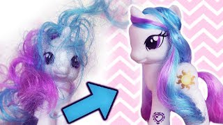 Video How to Fix My Little Pony Hair Soft and Shiny Manes!| Alice LPS MP3, 3GP, MP4, WEBM, AVI, FLV Maret 2018