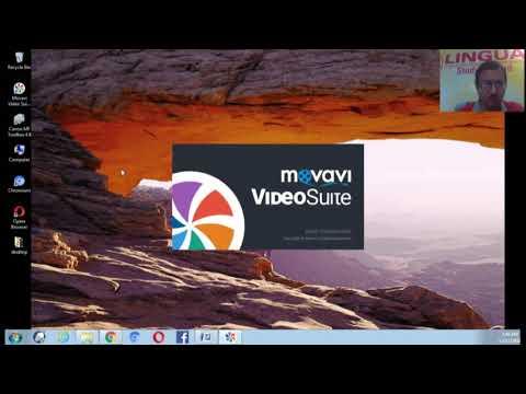 Movavi computer screen recorder & editor for you tube tutorial