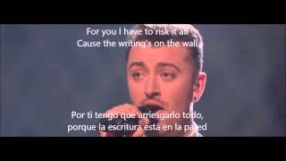 Video Sam Smith Writing's on the wall Subtitulado MP3, 3GP, MP4, WEBM, AVI, FLV Maret 2018