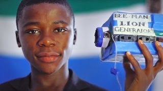 To support Kelvin and young innovators like him, please visit http://www.crowdrise.com/InnovateSalone 15-Year-Old Kelvin Doe is ...