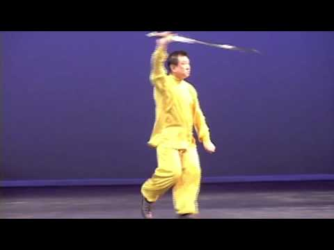 Straight Sword - Grandmaster Doc-Fai Wong performs a Wudang straight sword form. His knowledge of the Wudang sword came from his training under Great Grandmaster Hu Yuen Chou...