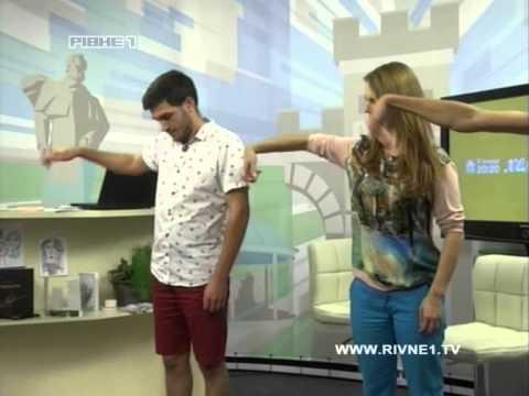 """Катя і Настя Самчук.  Мім-дует """"Зліва Направо"""".  Хелоу шоу"""