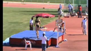 Concurso Salto de Altura, Torneo Federaciones  Zaragoza 2011
